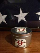 Gun Oil 9 Scented candle Sportsman's gift Christmas Gift Hunter Birthday Gift