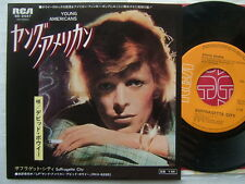 DAVID BOWIE YOUNG AMERICANS / JAPAN 7INCH
