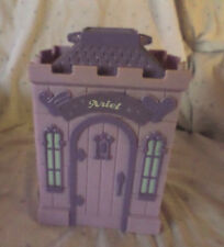 "Disney Fold Out Cary Along Little Mermaid House 7"" Toys Doll House Miniature"