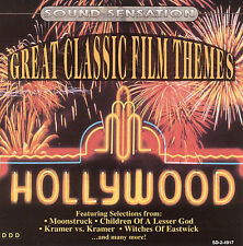 FREE US SH (int'l sh=$0-$3) USED,MINT CD Various: Great Classic Film Themes Soun