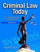 Criminal Law Today: An Introduction with Capstone Cases (3rd Edition) by Frank