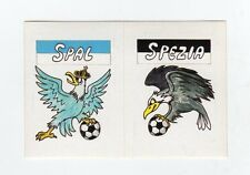 figurina CALCIO FLASH 1988 SCUDETTO SPAL, SPEZIA