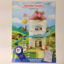 2006 Sylvanian Families Flair Name Poster Catalogue A3