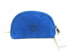 BNWT Authentic KIPLING Trix M Pouch Cosmetic Purse Wallet Cobalt Blue AC3501