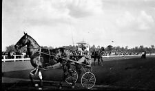 1907 Lansing Michigan Horse Races LARGE ORIGINAL NEGATIVE