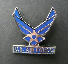 USAF UNITED STATES AIR FORCE CUT OUT WINGS LAPEL HAT PIN BADGE 1.1 INCHES