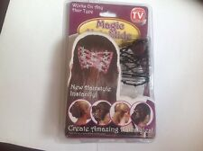 Brand New Sealed Box Magic Hair Slide ~ As Seen On Tv ~ New Hairstyles Instantly