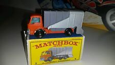 Matchbox 1-75 Modellauto RW No.7c Ford Refuse Truck 1967/70 mit Repro Box