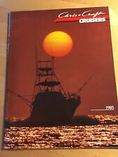 Chris Craft 1985 Cruisers Boat Brochure / Catalog