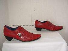 Escarpins / Chaussures DORKING BY FLUCHOS  cuir rouge P.38