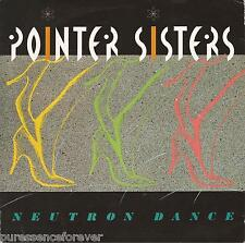 "POINTER SISTERS - Neutron Dance (UK 2 Tk 1984 7"" Single PS)"