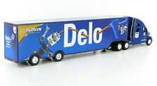 KENWORTH T-700 SEMI CHEVRON - DELO RACE TEAM 2 AXLE TRAILER IN BLUE1:87  3183