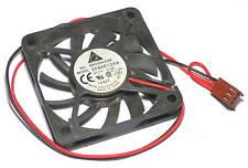 Delta DC brushless fan EFB0612HA 12V 0.18A 2-wire 3-pin 60x60x10mm