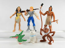 Pocahontas === Walt Disney 6 Indianer Figuren Yolanda