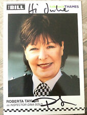 6x4 Hand Signed Photo Roberta Taylor - The Bill, Eastenders