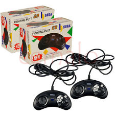 2 x 6 Button Controller Compatible with Sega Mega Drive 2 NEW | FREE Shipping