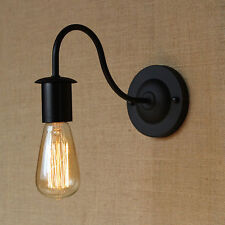 Vintage Retro Industrial Iron Sconce Wall Lamp Hallway Living Room Home Light