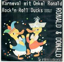 "3960-19  7"" Single: Ronald & Donald - Karneval mit Onkel Ronald"