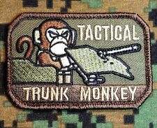 TACTICAL TRUNK MONKEY LOGO ISAF US ARMY CAMO FOREST PATCH HOOK FASTENER