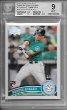2011 Topps Update DUSTIN ACKLEY DIAMOND ANNIVERSARY REAL DIAMOND #1/1 BGS 9.0!!