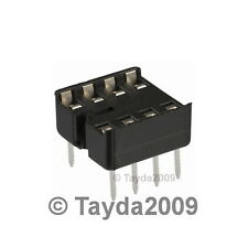 20 x 8 pin DIP IC Sockets Adaptor Solder Type Socket