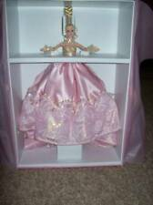NRFB Pink Splendor Barbie ( 24kt) GOLD trim MINT most expensive barbie Mattel ma