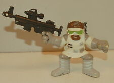 "2006 Hoth Rebel Trooper Soldier 2"" Star Wars Hasbro Galactic Heroes"