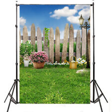 3X5FT Garden Thin Vinyl photography backdrop studio props Photo background 5874