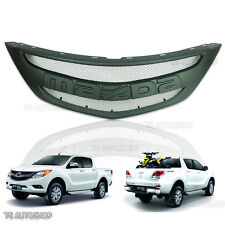 For Mazda Bt50 Bt-50 Pro Ute 2012-2016 Front Grille Grill Matte Black Trim Cover