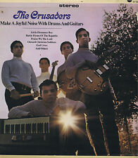 THE CRUSADERS Make A Joyful Noise With Drums and Guitars LP Rock Album EX Stereo