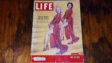 Marilyn Monroe/Jane Mansfield May 1953 Life Magazine