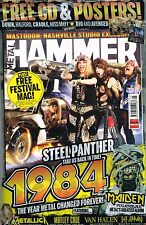 METAL HAMMER 05/2014 Steel Panther Back To 1984 @NEW@ +CD +Posters +Festival Mag