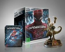 Rare! The Amazing Spiderman 1 + 2 Ultimate Hero Pack with Limited Edition Statue