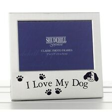 I Love my Dog Photo Frame New Gift Dog Lover