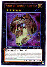 NUMERO 33 CRONOMALIA MACHU MECH REDU-IT043 Rara Ultimate in Inglese YUGIOH