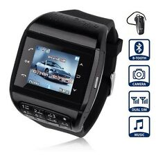 Q8 Watch Phone Dual SIM Black