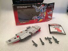 Broadside ~ 100% Complete 1986 Hasbro G1 Transformers Action Figure Box