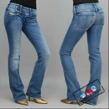 NWT  DIESEL BOOT CUT  CHEROCK JEANS  SZ. 25 MADE IN ITALY
