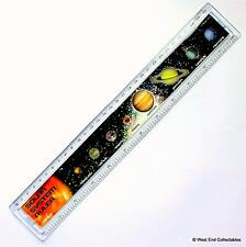 Solar System Orrery Science 30cm Ruler - Educational Astronomy Space Planets
