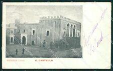 Lecce Presicce Castello PIEGA cartolina XB0221