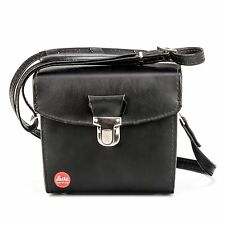Leica Stitched Faux-Leather Carrying/Storage Case  - Small