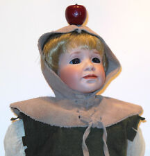 WILLIAM TELL~PORCELAIN DOLL~WENDY LAWTON~APPLE~LITTLE BOY~STAND~LIKE ROBIN HOOD
