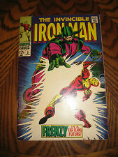IRON MAN #5  1ST SERIES!  FINE+ 6.5   SILVER AGE  MARVEL COMICS