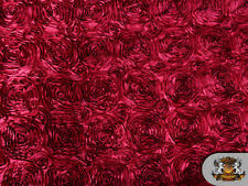 """Rosette Satin Fabric/ 56"""" Wide / Sold by the yard"""