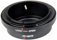 Bower AB43FD Body Mount Adaptor from Olympus 4/3 to Canon FD