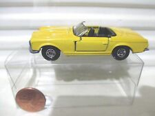 LESNEY MATCHBOX 1970 MB27A Yellow Mercedes Benz 230SL Black Interior Small Whls