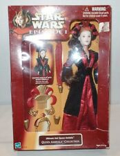 HASBRO 1998 STAR WARS EPISODE 1 - ULTIMATE HAIR QUEEN AMIDALA DOLL NEW SEALED