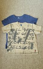 2 boys t shirt h& m and jac for 5-7y used