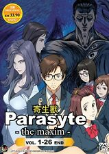 Parasyte The Maxim (TV 1 - 26 End) DVD + Free Gift