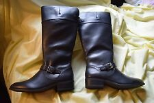NEW Chaps Black Gen Mid Calf High Ladie's Riding Boots Size 10 Women's $99.99